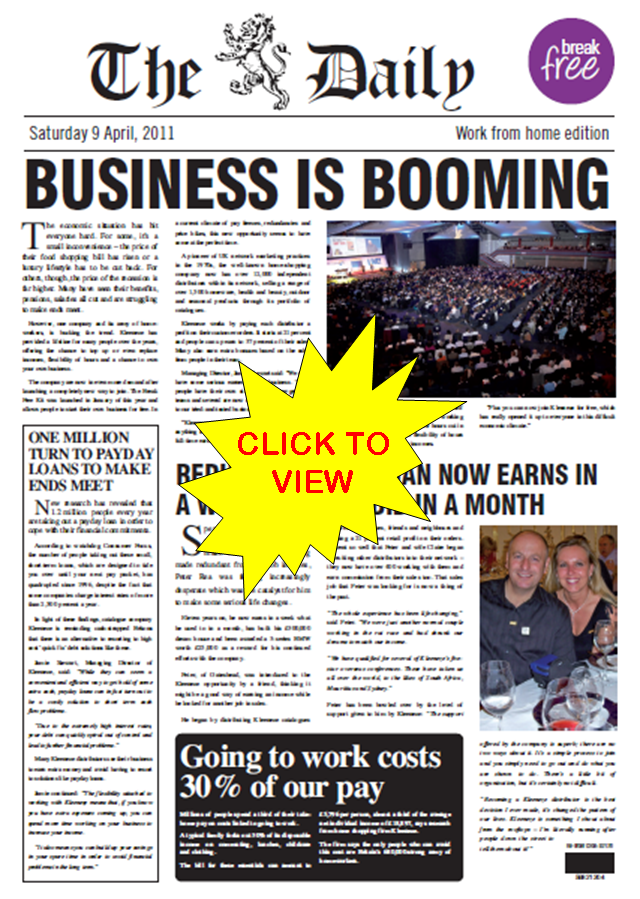 Kleeneze Newspaper